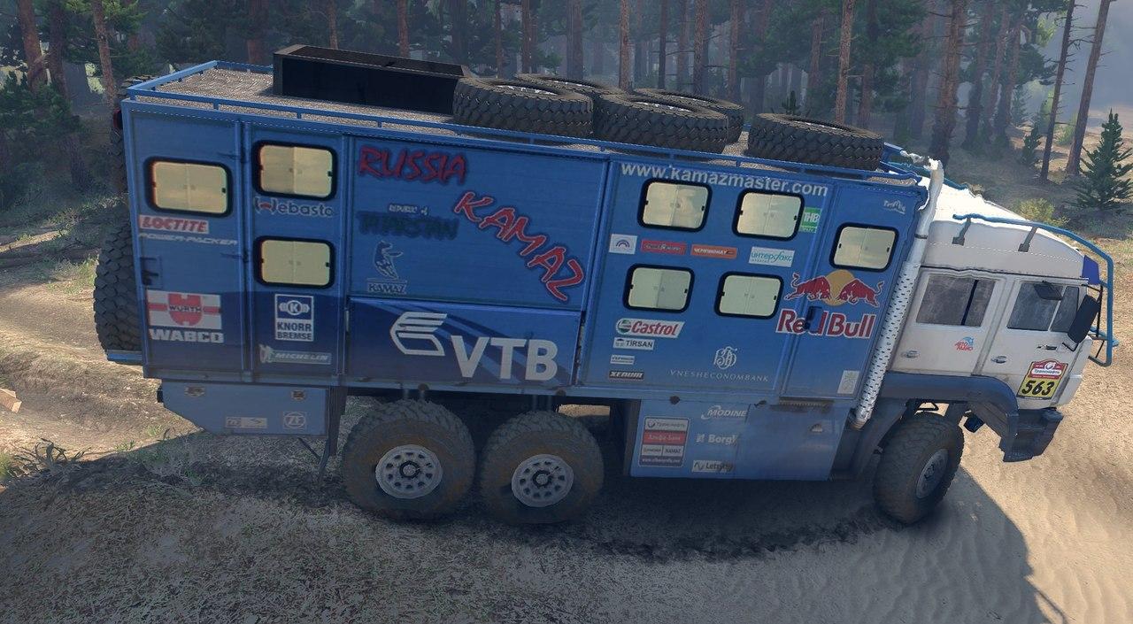 КамАЗ-635050 для Spintires - Скриншот 3