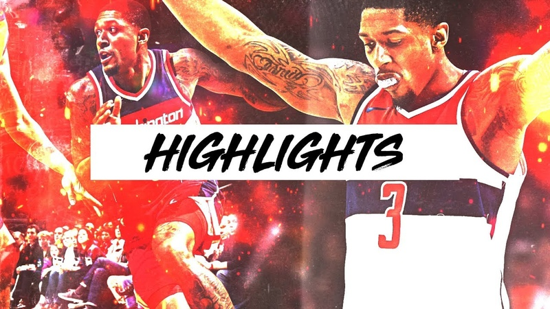Best Bradley Beal Highlights 17-18 Season Part 1 | Clip Session