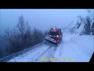 Дальнобой.Северная Норвегия.HEROY 78 road.