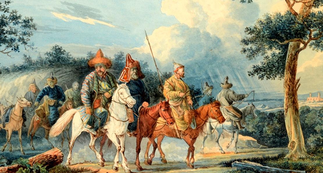 Татары на марше