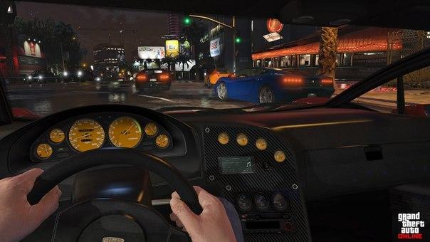 Вид от первого лица в GTA 5