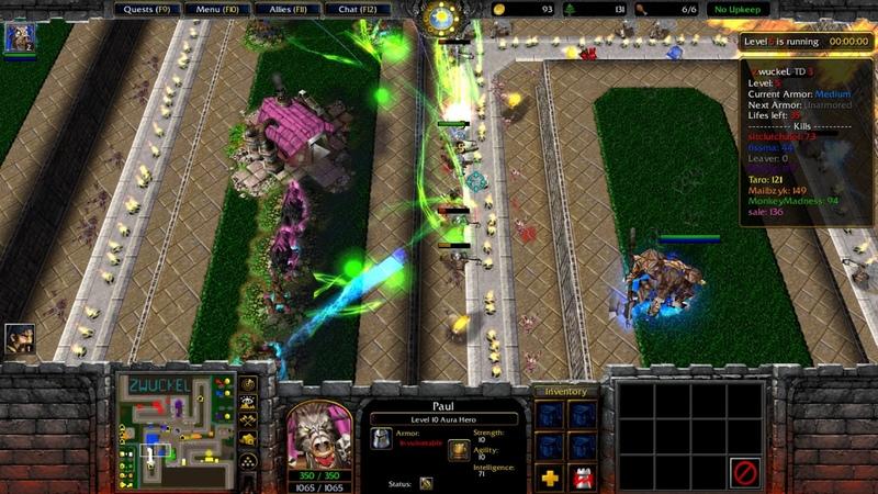 Zwuckel TD 16.62 DUO - Warcraft III - Battlenet