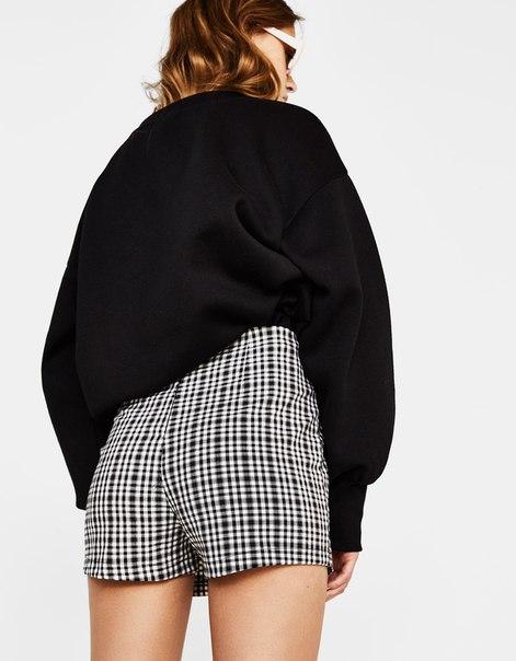 Юбка-брюки с пуговицами