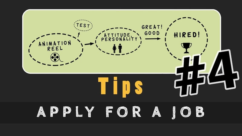 Animation Tip 04 - APPLY FOR A JOB