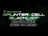 Splinter∴Cell Blacklist - Spies vs Mercs 2v2 Full Gameplay Silo Map