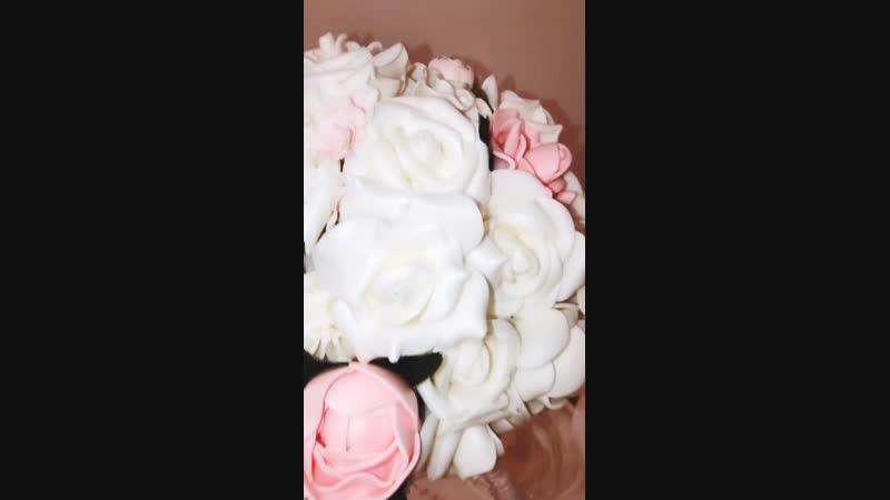 Floral Studiya Dekora композиция на стол гостей