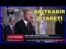Cumhurbaşkanı Erdoğan'ın Yemin Töreni Sonrası Anıtkabir Ziyareti 9 7 2018