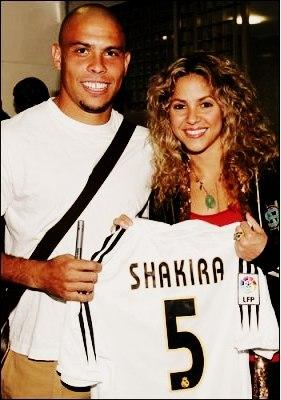 Шакира и реал мадрид