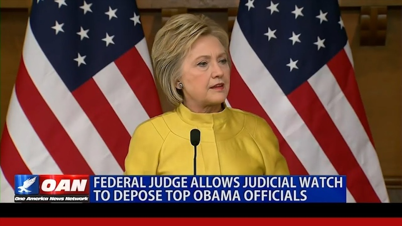 Court Allows Judicial Watch to Depose Obama Era Officials over Benghazi Clinton Email Scandals