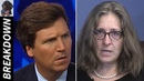 """""""Immoral and Disgusting!!"""" Tucker Reacts to Deranged Feminist Prof's Crazy Tweet about White Men"""