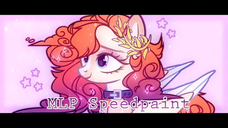 - ̗°• MLP:(Speedpaint) Melanin Amber •° ̖-