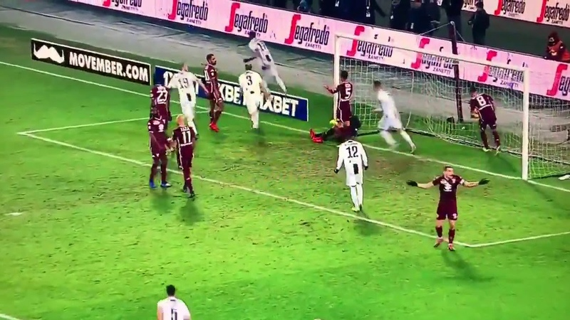 Mario Mandzukic Disallowed Goal vs Torino | 15th Dec 2018