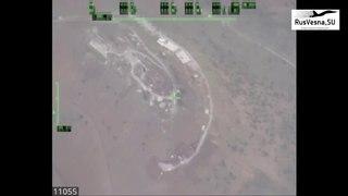 СРОЧНО: Лётчики-снайперы уничтожили иностранный разведцентр на юге Сирии