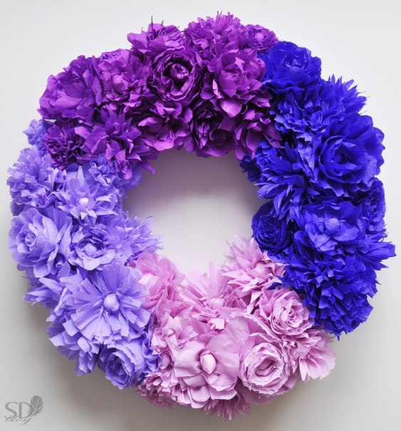 Цветочный венок