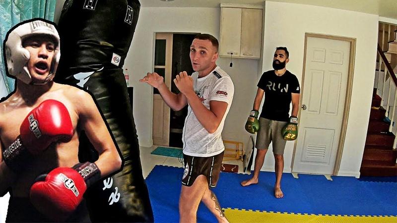 Дыхание в боксе как научится дышать Упражнение для распределения дыхания Бокс Муай Тай ММА