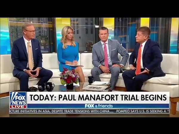 Guess Who ClearedExonerated Manafort 8 Years Ago Of The Crime Hes Being Charged With Now