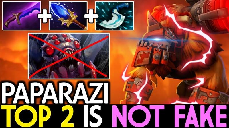 Paparazi [Earthshaker] Top 2 MMR is Not Fake   Hard Counter BM 7.19 Dota 2