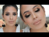 Glam Makeup Tutorial for OILY Skin