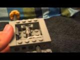 Лего мини пушка с предохранителем! Lego Gun with fuse