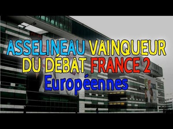 Asselineau domine le débat France 2 - meilleurs moments (4 avril 2019)