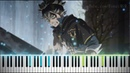 [Black Clover OP 3] Black Rover - Vickeblanka (Synthesia Piano Tutorial)