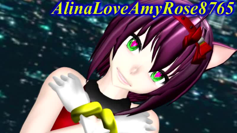 (MMD) (Sonic) Amy Rose {YOUR REALITY}