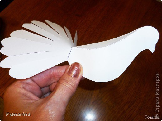 Как сделать голубя из бумаги своими руками поэтапно оригами