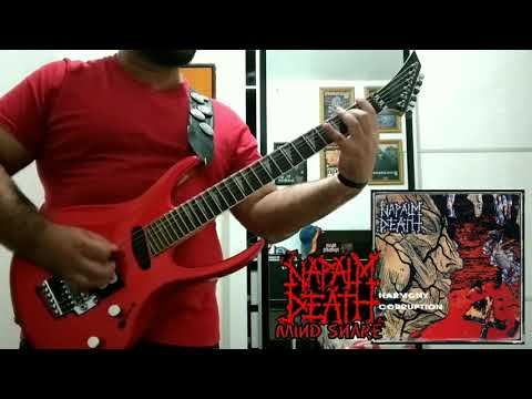 NAPALM DEATH Mind Snare 1990 Guitar Cover