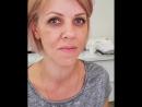 Перманентный макияж бровей через 1год
