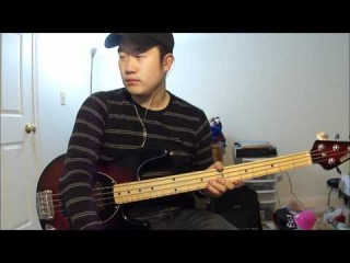 Switchfoot - Dark Horses (4-string bass cover)