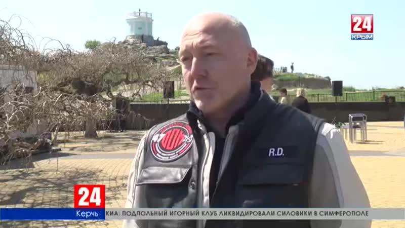 В Крым прибыли байкеры. Губернатор Ленинградской области принимает участие в мотопробеге, посвящённом годовщине Победы в Великой