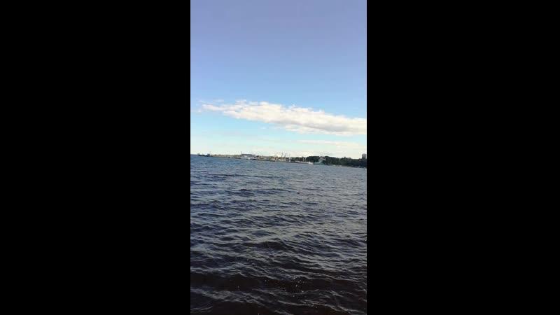 г. Петрозаводск, Онежское озеро.