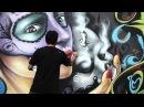 Los DMJC realizan un mural tributo a Psycho Realm y Delinquent Habits