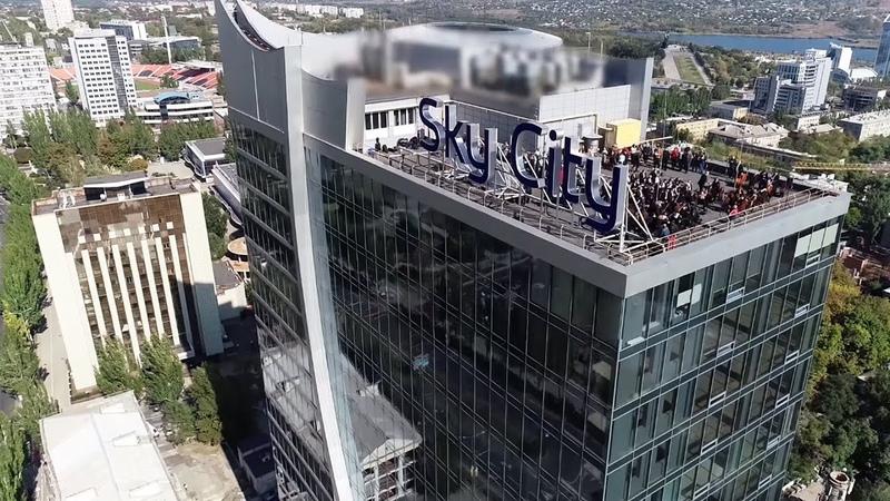 Концерт на крыше Донецк. Sky City