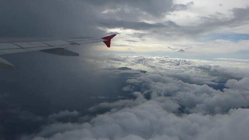 В небе над Тайландом