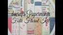 Docrafts Papermania Folk Floral Kit Share