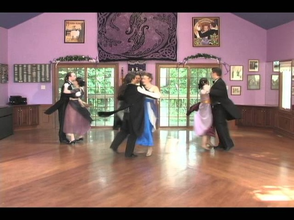 The Castlewalk, performed by Renée Camus and Centuries Historical Dance