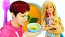 Маша Капуки, Барби и тыквенный суп. Игры - как готовить