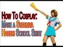 How To Cosplay: Make A Suzumiya Haruhi Skirt!