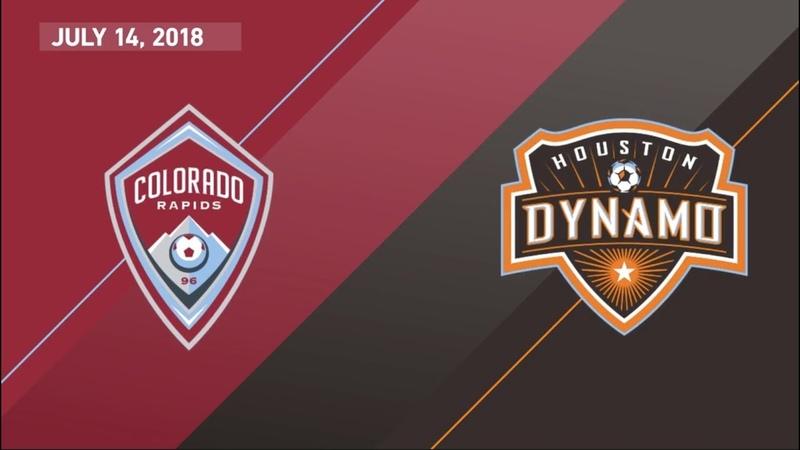 HIGHLIGHTS Colorado Rapids vs. Houston Dynamo | July 14, 2018