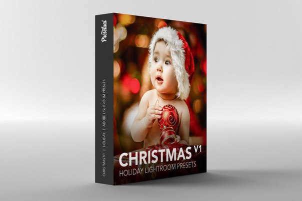 Preset Collection of Christmas presets for lightroom