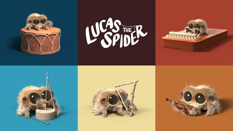 Lucas The Spider - One Man Band