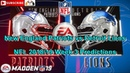New England Patriots vs Detroit Lions | NFL 2018-19 Week 3 | Predictions Madden NFL 19