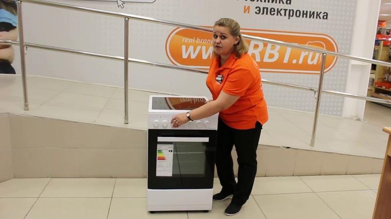 Видеообзор электрической плиты LERAN ECH 403 W со специалистом от RBT.ru