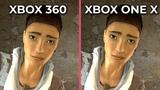 Half Life 2 Xbox 360 vs. Xbox One X 4K Graphics Comparison The Orange Box