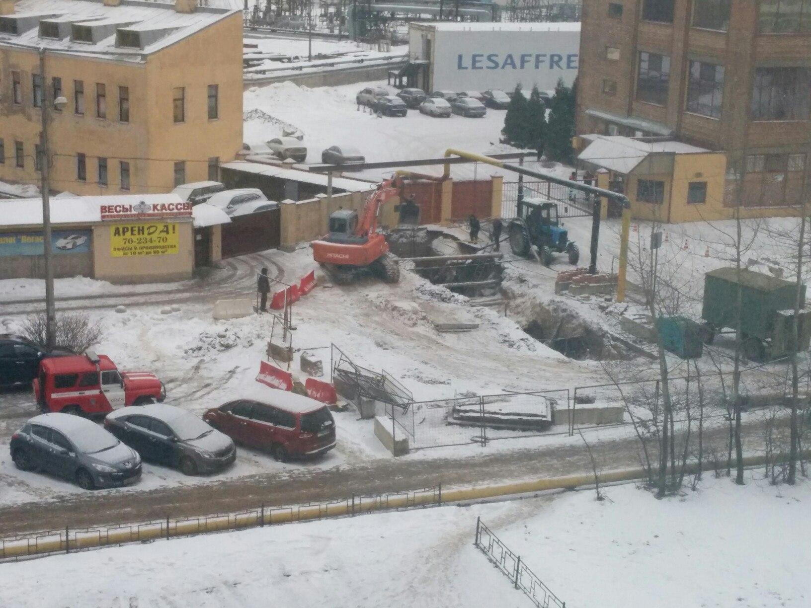 Утечка газа произошла наБелоостровской улице— свидетели