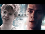 Thomas &amp Newt You're my first love HBD Emberdragon!