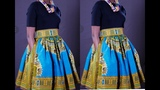 Gathered Skirt with pockets