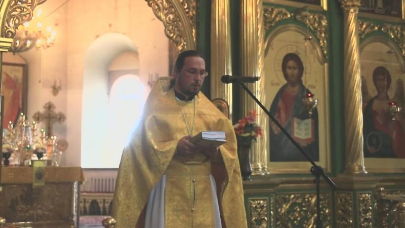 Проповедь иеромонаха Свято-Троицкого мужского монастыря Сергия (Завгородного)