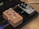 Hermida Audio Zendrive guitar pedal demo standard vs SE Version w Tele @ Jaguar Twin